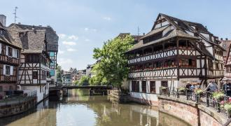 Centro de Estrasburgo (Petite France - Catedral)