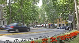 Via Veneto en omgeving