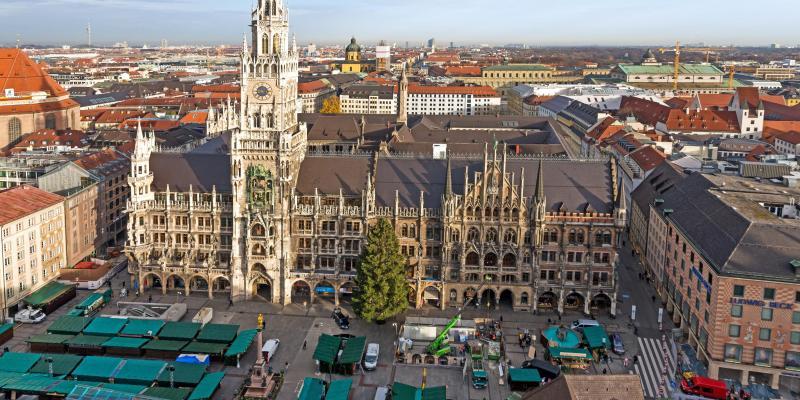 Müncheni harangjáték – Glockenspiel