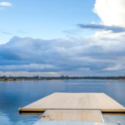 airēšanas ezers Dorney Lake