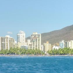 El Rodadero paplūdimys