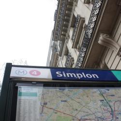metrostation Simplon