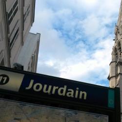 Jourdain tunnelbanestation