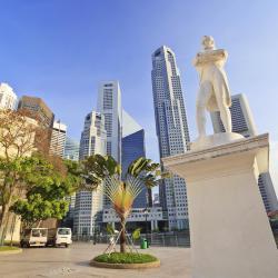 Estatua de Sir Stamford Raffles