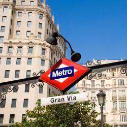 Gran Via Station Metro Station