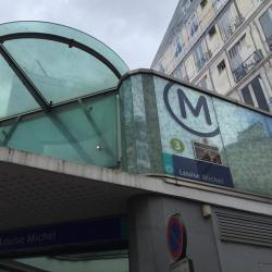 Louise Michel Metro Station