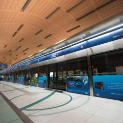 Estación de metro Dubai Airport Terminal 3