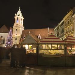 Vianočné trhy Bratislava, Bratislava