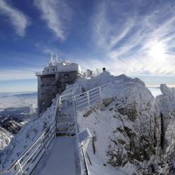 kalnu virsotne Lomnický štít