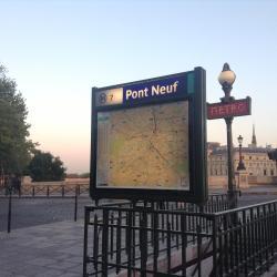 Estación de metro Pont Neuf