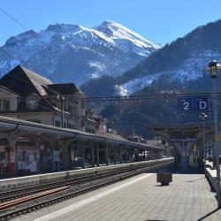 Interlaken West Train Station