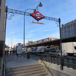 Plaza de Castilla Metro Station