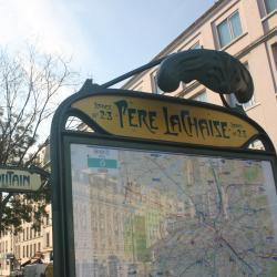 Père Lachaise tunnelbanestation
