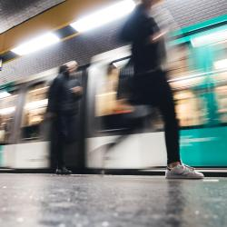 Rue Saint-Maur tunnelbanestation