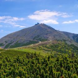 Sniezka mountain