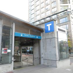 Yaletown Roundhouse Skytrain Station