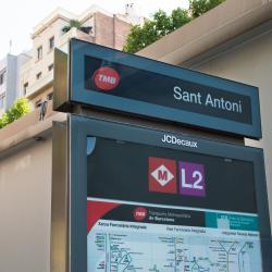 Estación de metro Sant Antoni