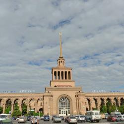 Железнодорожный вокзал Еревана