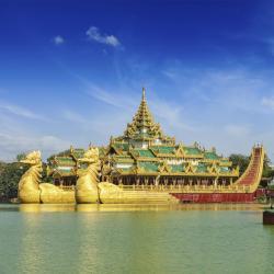 カンドージー湖, ヤンゴン