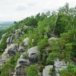 Elbe Sandstone Mountains, Arnoltice u Decina