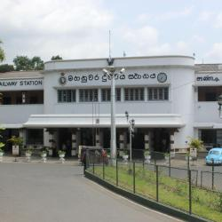 Kandy Train Station