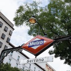 Serrano Metro Station