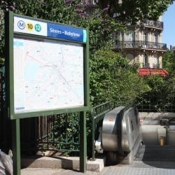 Métro Sèvres - Babylone
