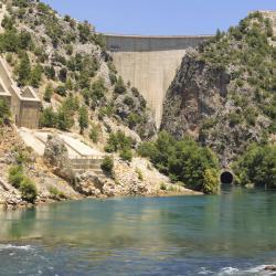 Oymapinar Hydro Electric Dam