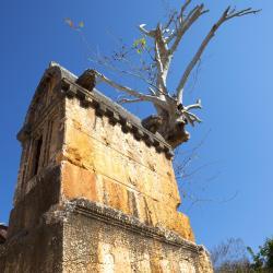 Kas Lions Tomb