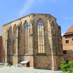 Ruins of St. Catherine's Church, Nuremberg