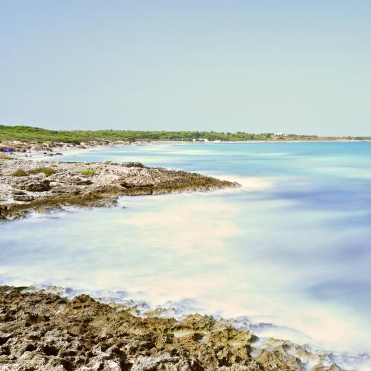 Strand van Punta della Suina