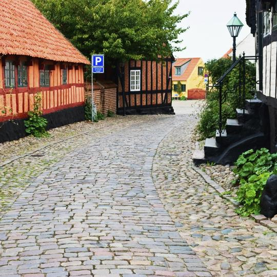 Ebeltoft village
