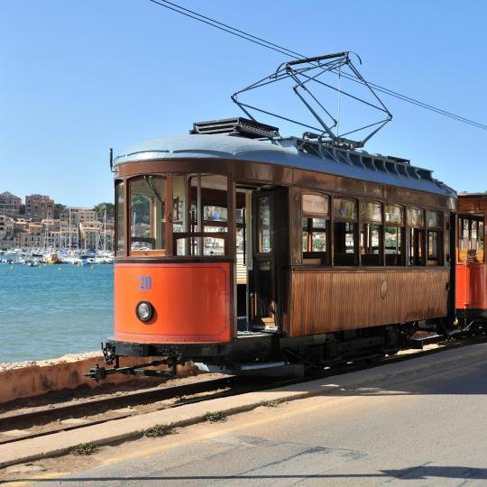 Zugfahrt nach Port de Sóller