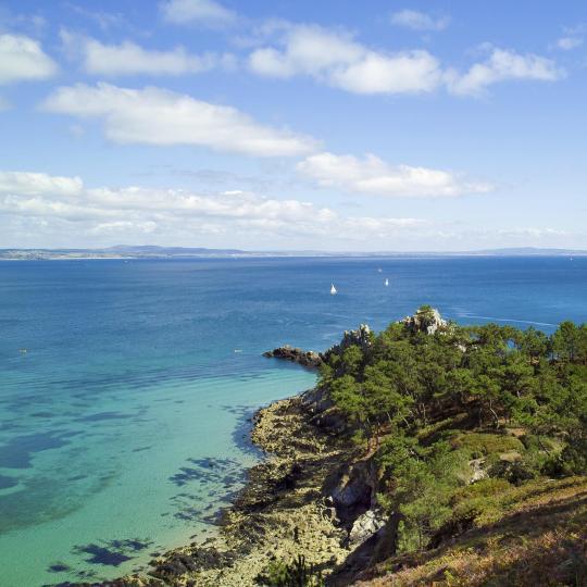 Stunning views from Cap de la Chèvre