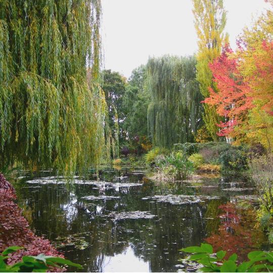 Het huis en de tuin van Claude Monet in Giverny