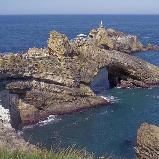 Rock of the Blessed Virgin, Biarritz