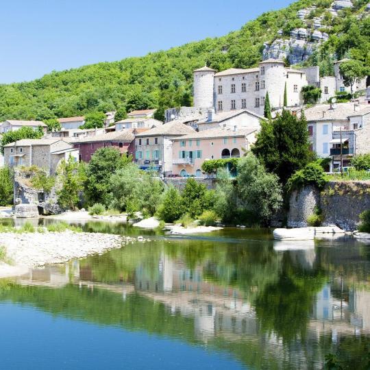 The village of Vogüé