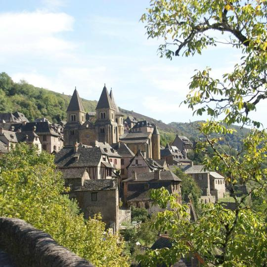 Medieval village of Conques