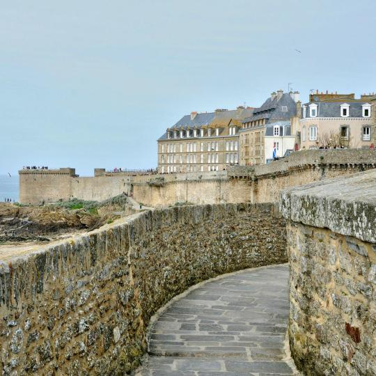 The Saint-Malo Ramparts