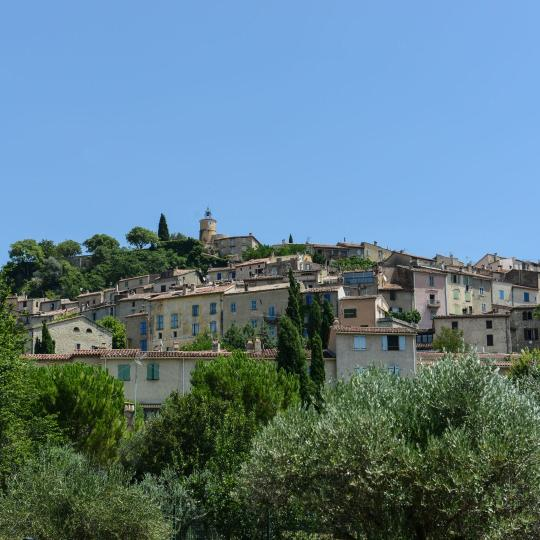 Hilltop village of Fayence