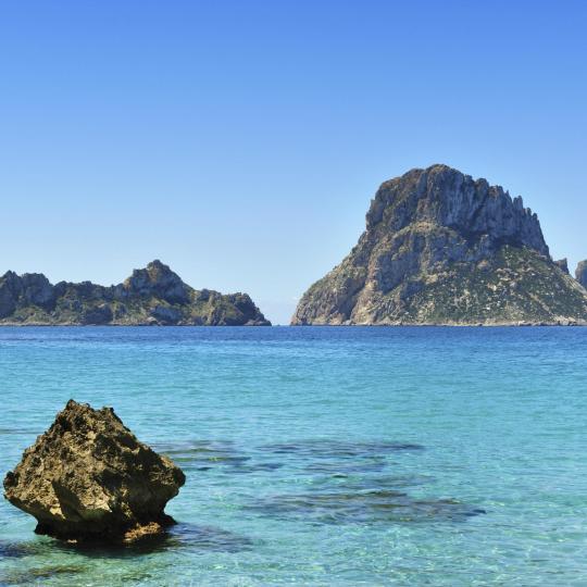 Die Inseln Es Vedrá und Es Vedranell