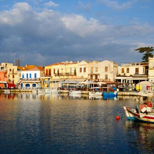 Venecijietiškas Retimno uostas ir tvirtovė