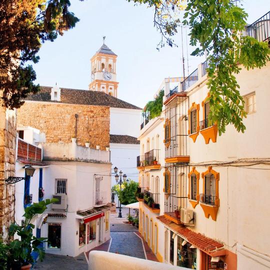 Marbella óvárosa