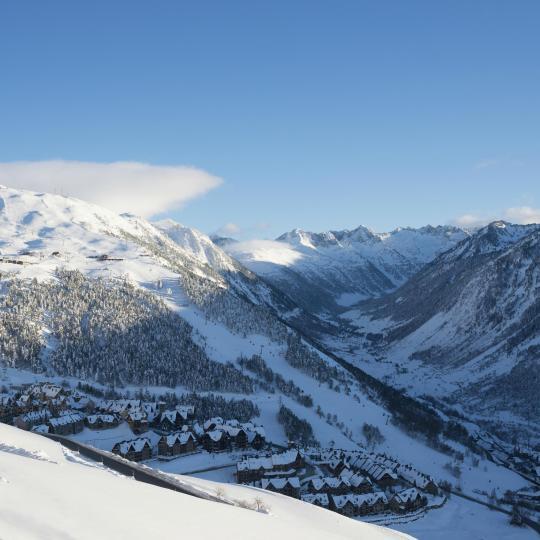 Skifahren im Val d'Aran