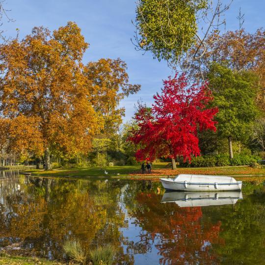 Een groene wandeling in Bois de Vincennes