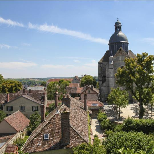 The Medieval village of Provins