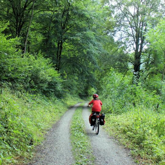 Unterwegs auf dem Kylltal-Radweg