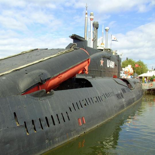Besuchen Sie das weltgrößte U-Boot-Museum
