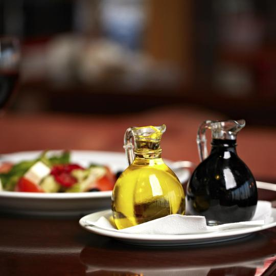 Sample balsamic vinegar in Pavarotti's hometown