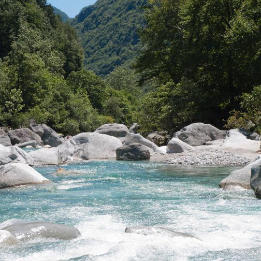 Canyoning on the River Verzasca